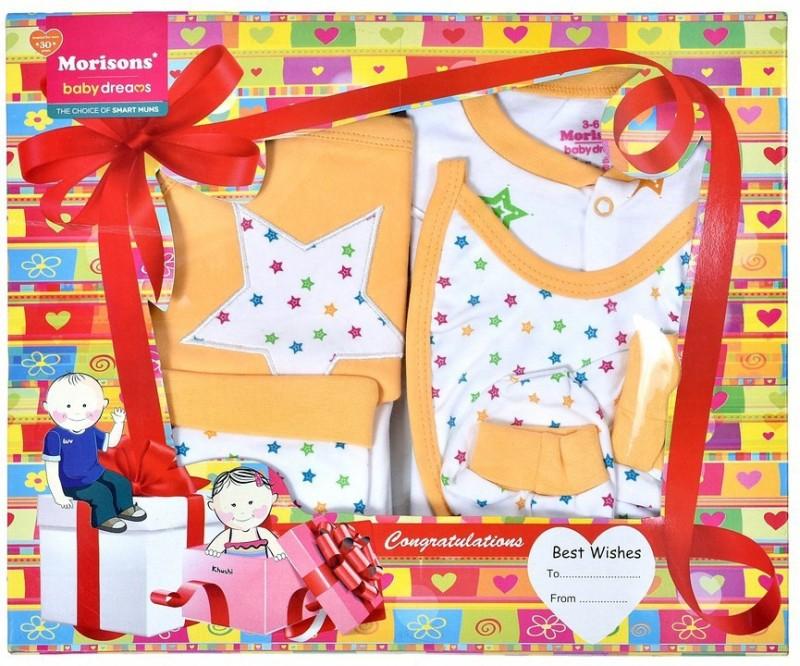 Morisons Baby Dreams Apparel Gift Box(Yellow)