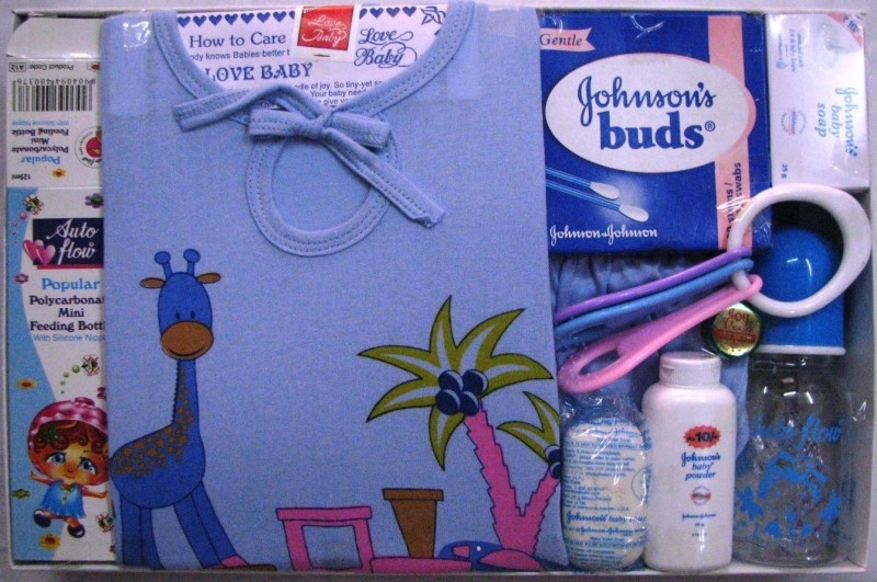 Love Baby Baby Gift Set(Blue)