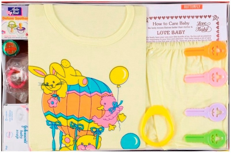 Love Baby Care Combo(Yellow)