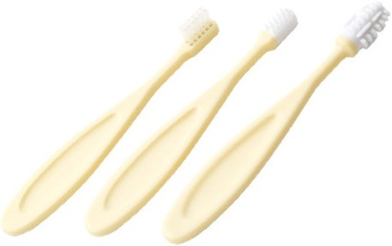 Tommy Tippee Toothbrush Trainer Set- Imported(Yellow)