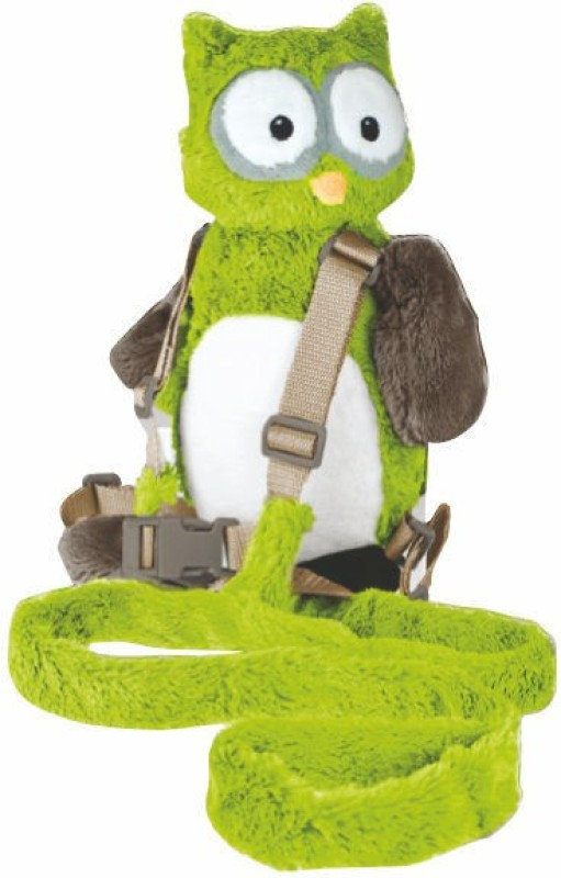 Playette Harold The Owl Baby Carrier(Green, Back Carry)