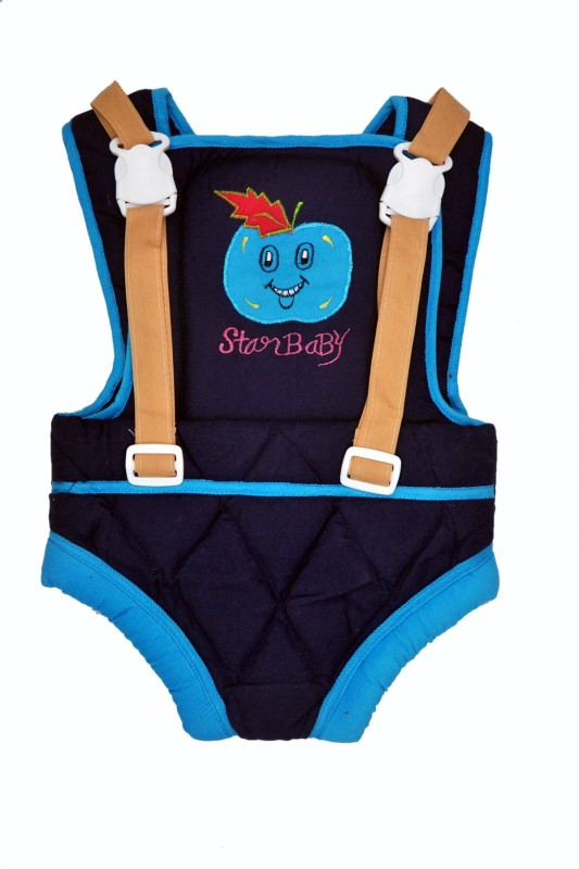 Jhankhi Baby Carrier Kangaroo Belt Sleeping Bag Blue Baby Carrier(Multicolor, Front Carry facing in)