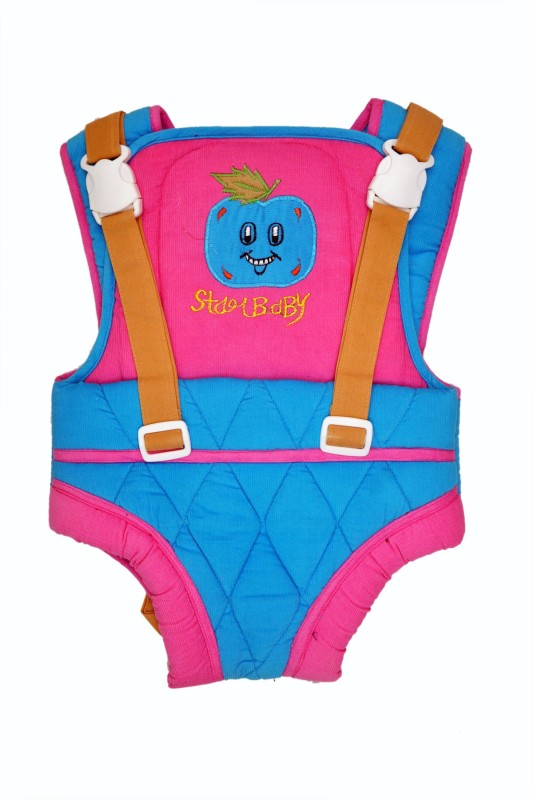 Jhankhi Baby Carrier Kangaroo Belt Sleeping Bag Pink Baby Carrier(Multicolor, Front Carry facing in)