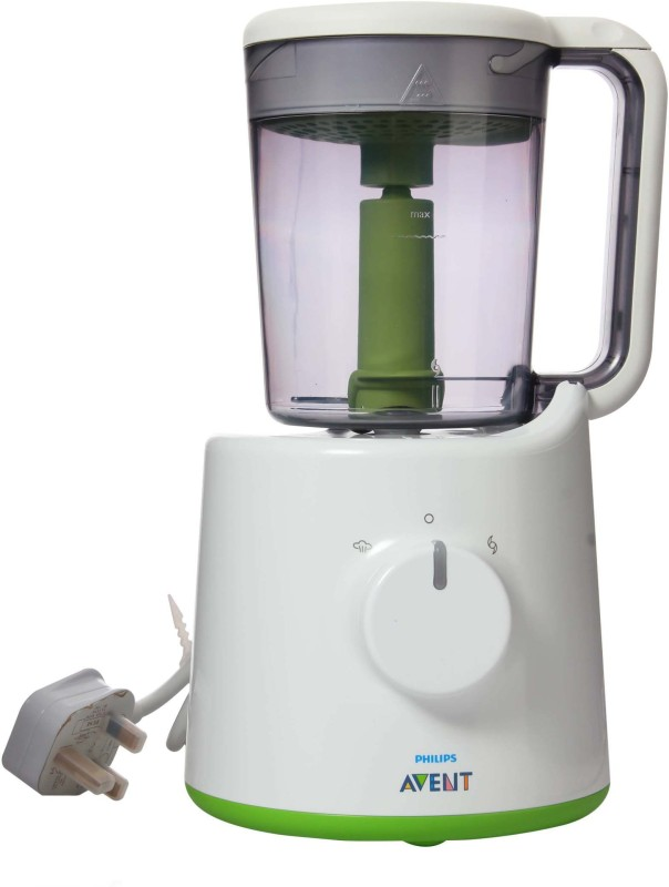 Philips Avent Avent Combined Steamer and Blender(White, Green)