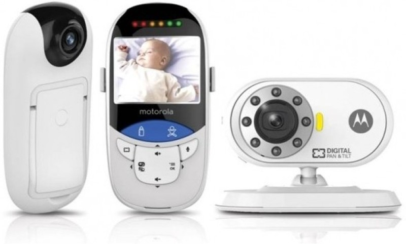 Motorola Digital Video Baby Monitor with Integrated Touchless Thermometer(Audio&Video)