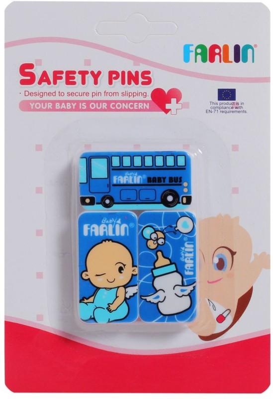 Farlin Safety Pins(Blue)