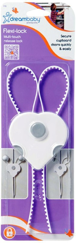Dreambaby Cabinet Flexi Lock(White)