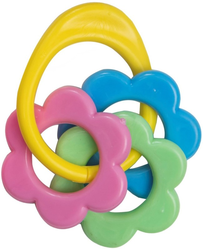 Love Baby First Toy - Star Rattle(Multicolor)
