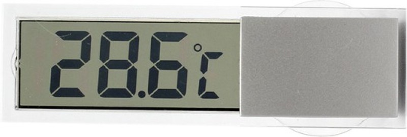 Futaba Car / Home / Office LCD Bath Thermometer(Silver)