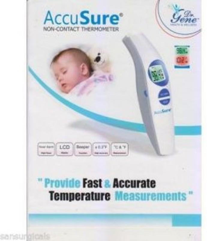 Dr.Gene Non contact Bath Thermometer(White)