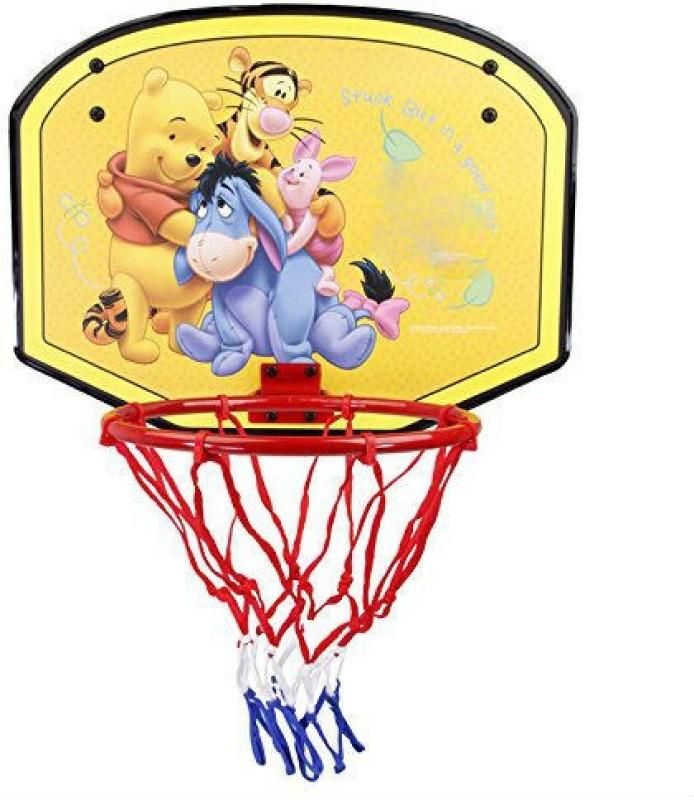 Shrih Portable 19 Basketball Backboard(Yellow)
