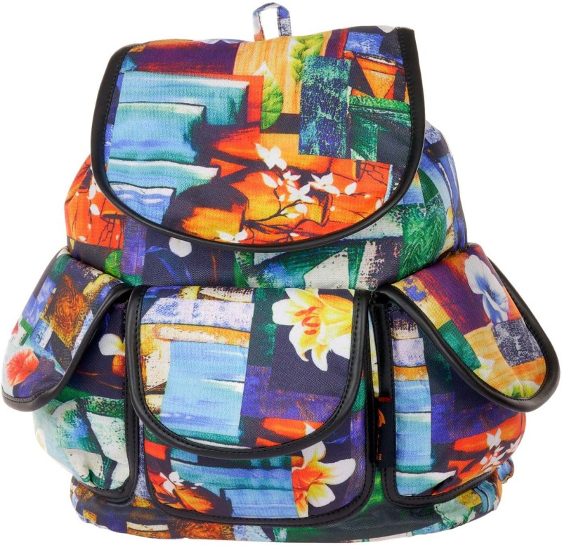 JG Shoppe JGBPMD12 18 L Backpack(Multicolor)
