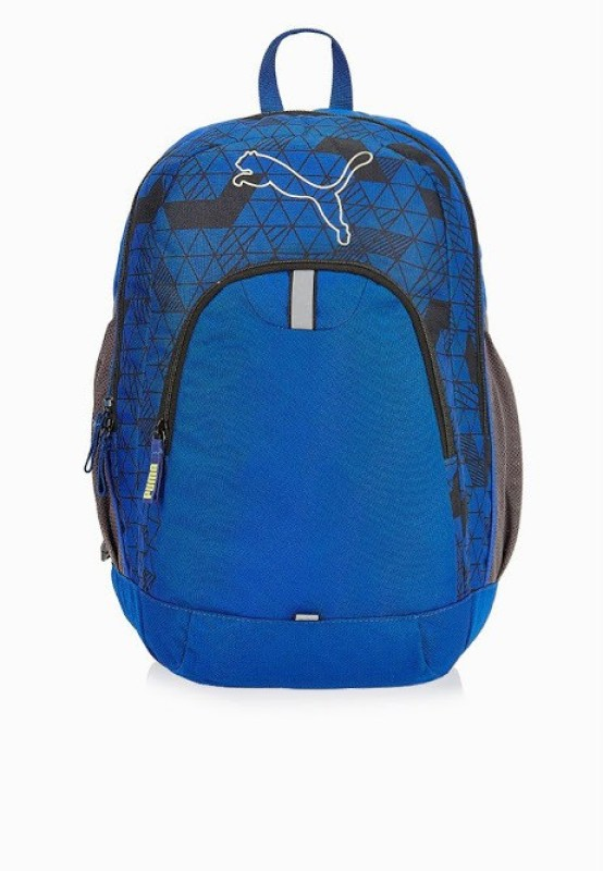 Puma Echo 10 L Medium Backpack(Blue, Grey)