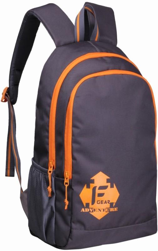 F Gear Castle - Rugged Base 27 L Standard Backpack(Grey)