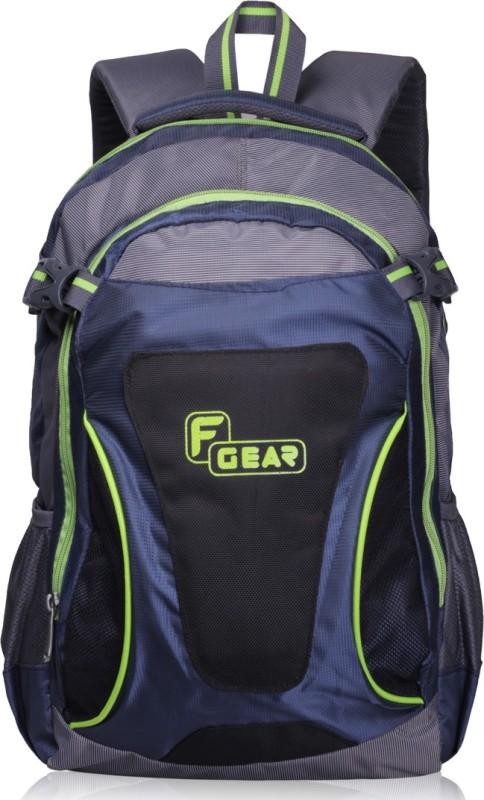 F Gear Legend 24 L Laptop Backpack(Grey, Blue, Green)
