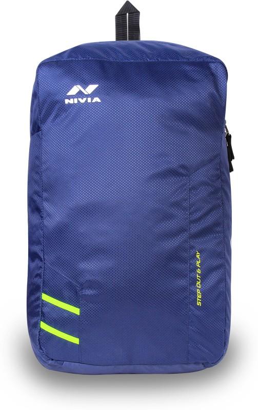 Nivia Pebble-1 22 L Backpack(Blue)