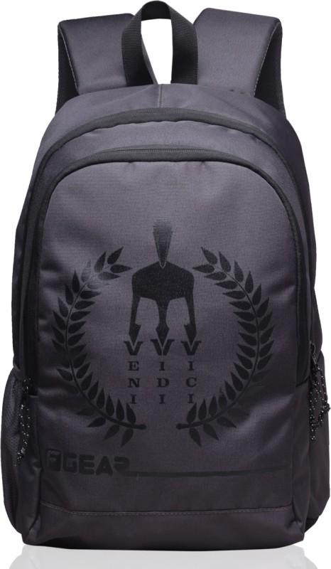 F Gear Castle - Rugged Base VVV 27 L Backpack(Grey, Black)