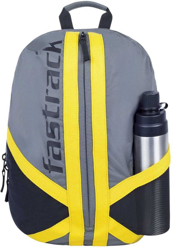 Fastrack AC027NGY01 7 L Average Backpack(Grey)