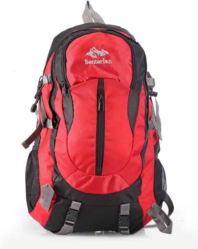 Senterlan CJESL1001RDBP 30 L Backpack(Red, Black)
