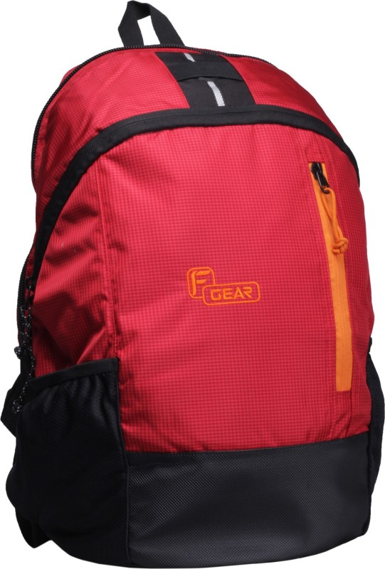 F Gear Rocco 21 L Backpack(Red, Black)