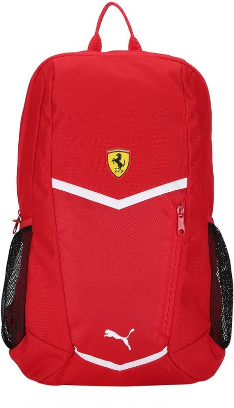 Puma Ferrari Fanwear Backpack 18 L Laptop Backpack(Red)