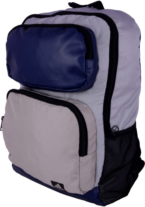 Adidas AY8461 15 L Medium Laptop Backpack(Blue, Black, Beige)