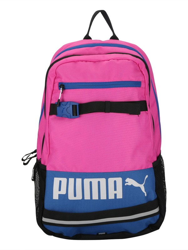 Puma Deck 24 L Laptop Backpack(Pink, Blue)