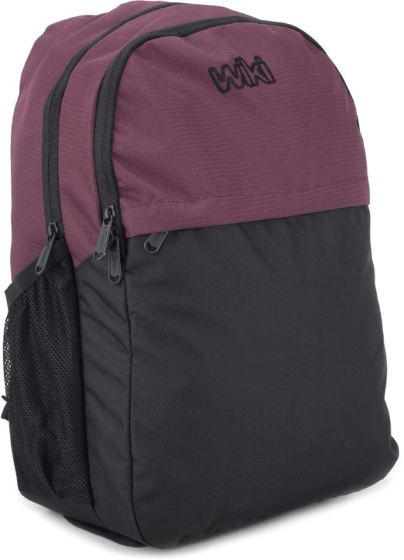 Wildcraft Atom Backpack(Purple, Black)