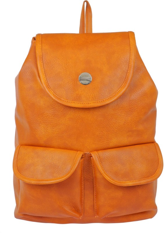JG Shoppe JGBPMD05 10 L Backpack(Orange)