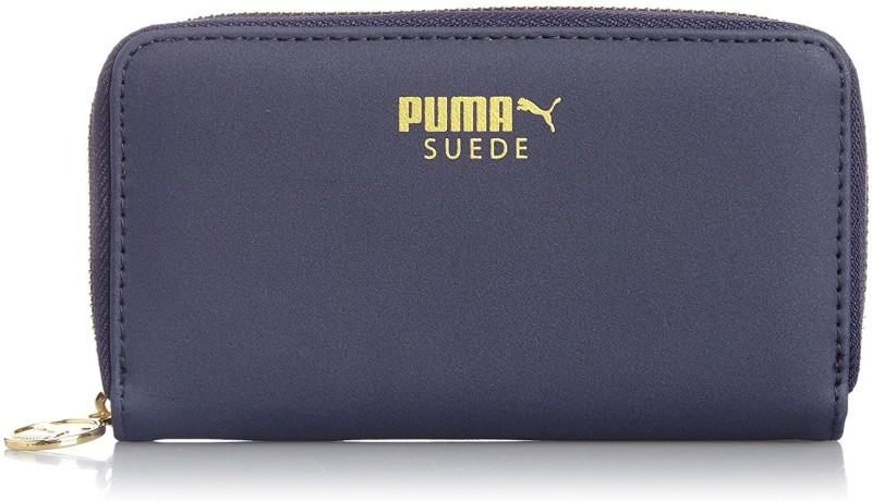 Puma Suede East-West-Wallet peacoat Backpack(Black, White)