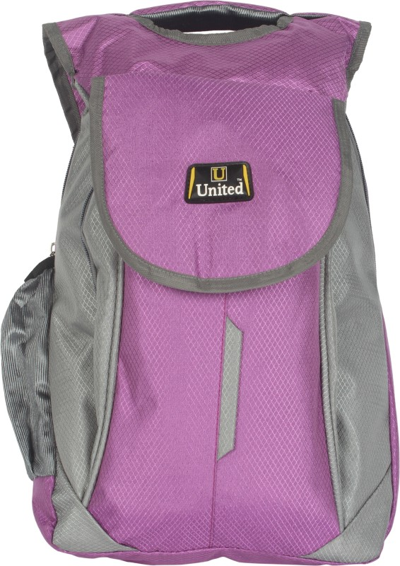 U United Hunch City Carrier 17 L Backpack(Purple, Grey)