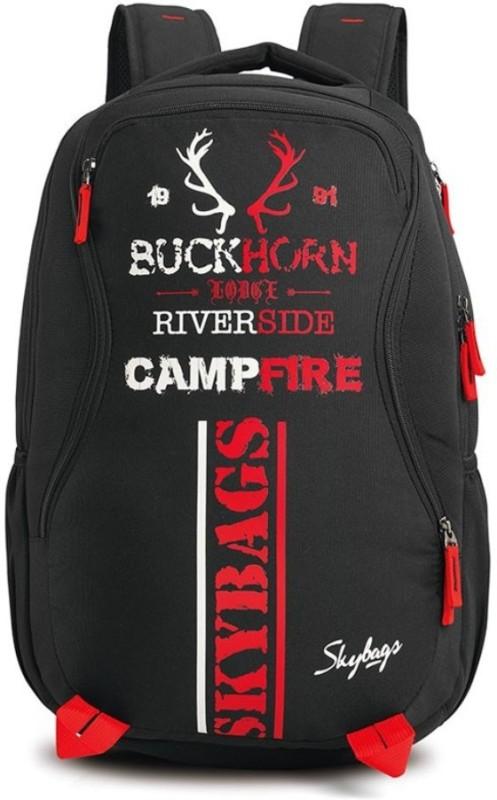 Skybags Strider 02 Black 27 L Backpack(Black)