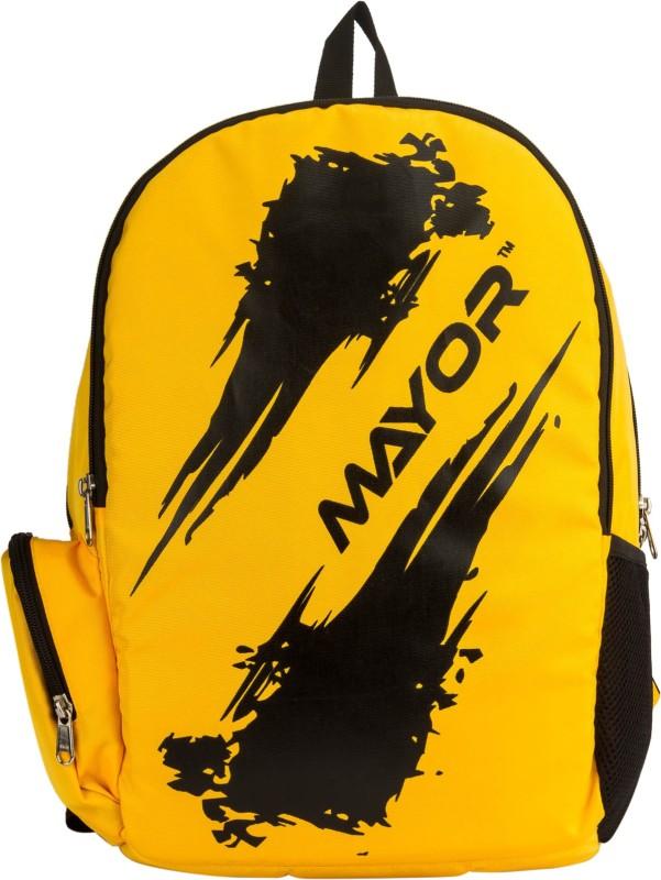 Mayor Arrow 25 L Laptop Backpack(Yellow)