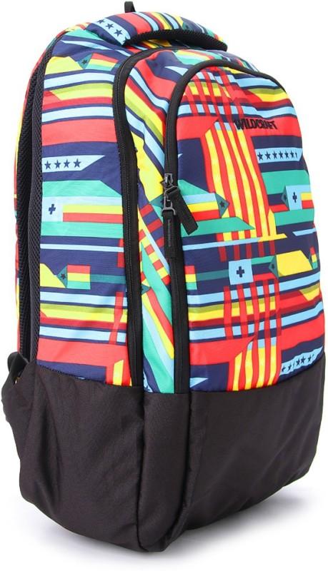 Wildcraft Guide Blue 30 L Medium Backpack(Black, Blue)