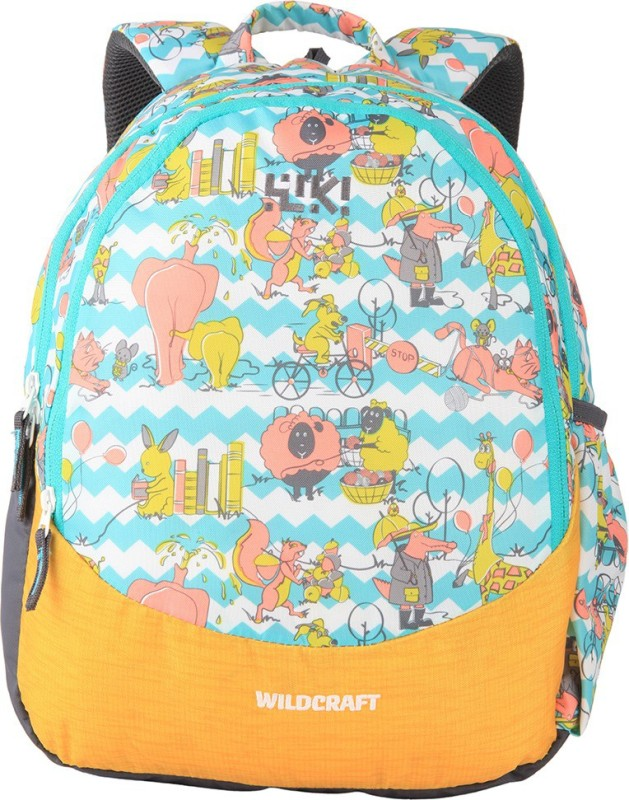 Wildcraft Wiki Zoo 3 14 L Backpack(Multicolor)