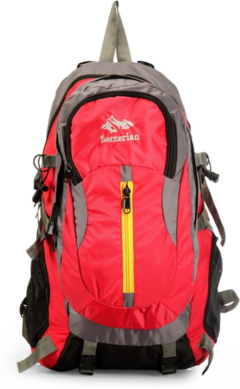 Senterlan CJESL5001PKBP 30 L Backpack(Pink, Black)