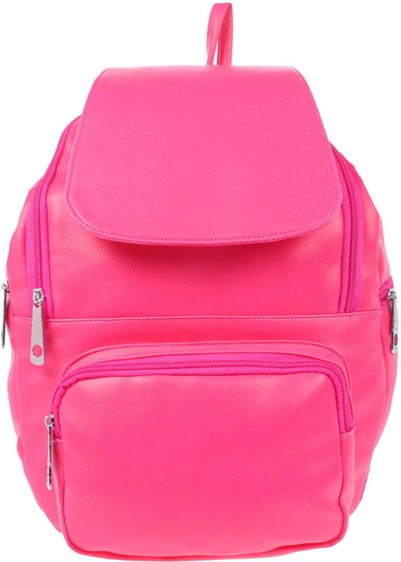 JG Shoppe JGM 10 L Backpack(Pink)