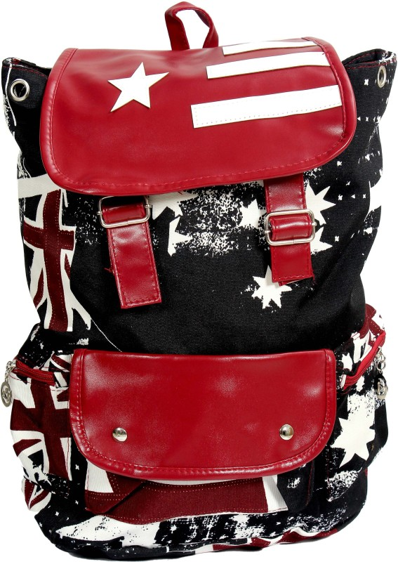 Shape n Style Usa Printed 5 L Backpack(Multicolor)