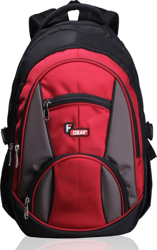 F Gear Midus 29 L Backpack(Black, Red)