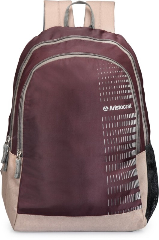 Aristocrat Pep 01 Purple 21 L Backpack(Purple)