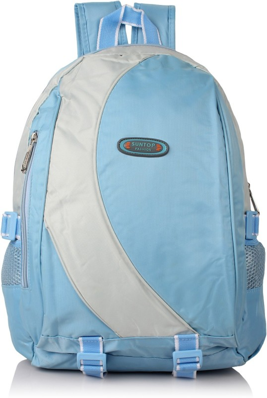 Suntop A10 16 L Backpack(Blue, Grey)
