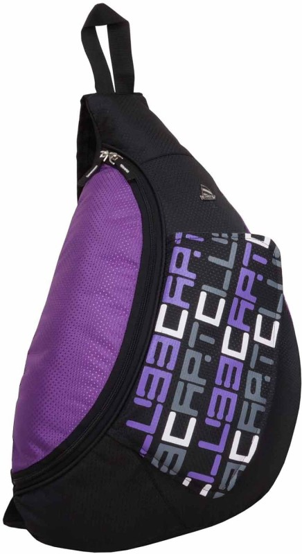 Clubb Flat Cross College Casual 15 L Backpack(Multicolor)