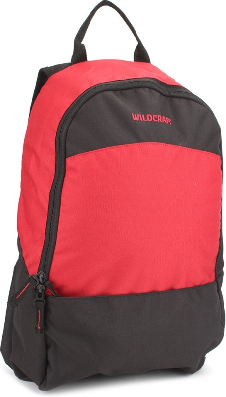 Wildcraft Leap Red Backpack(Black, Red)