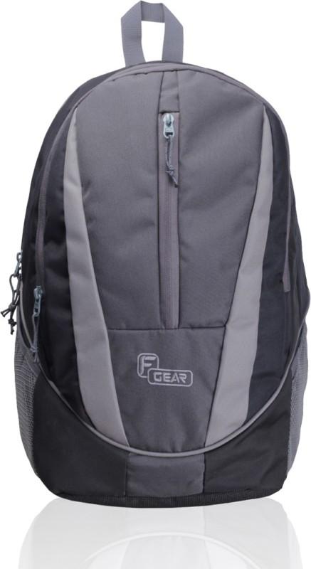 F Gear Flame V2 Rugged Base 29 L Standard Laptop Backpack(Black, Grey)