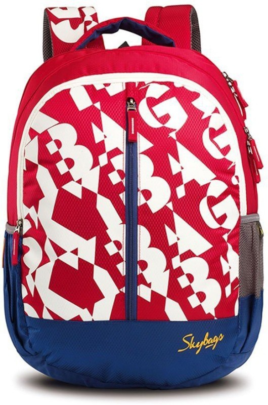Skybags Pogo 04 Red 22 L Backpack(Multicolor)