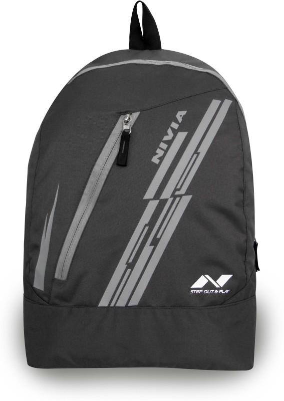 Nivia Pebble-4 16 L Backpack(Grey)