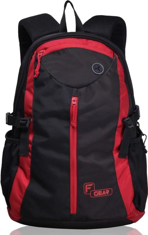 F Gear Slog V2 27 L Backpack(Black, Red)