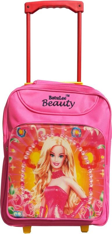 Batu Lee Princess Mesh 17 L Trolley Backpack(Pink)