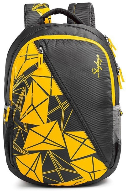 Skybags Pogo 03 Black 22 L Backpack(Multicolor)