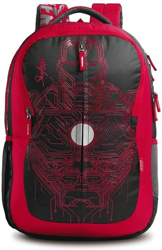 Skybags Iron Man 03 Black 22 L Backpack(Multicolor)